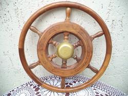 Hajó kormány kormánykerék 45 cm átmérőjű