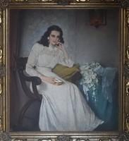 Komáromi Kacz Endre - Lány könyvvel