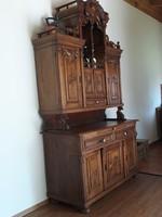 Bécsi barokk tálalószekrény 140 x 261cm magas AKCIÓ!!!!!