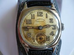 Vintage Helvetia Chronometre kézi felhúzású karóra az 1920-as évekből