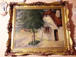 Kóbor Henrik olaj, vászon festmény