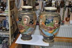 2 darab japán váza