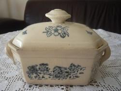 Antik Villeroy&Boch fajansz doboz, bonbonier