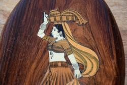 Fa Intarzia berakásos falikép