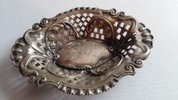 Ezüst áttört bonbon kínàló.William Devenport. Birmingham 1906- 1907.