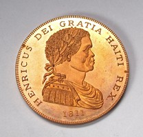 Haiti korona 1811 utánveret.