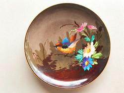 1850 körüli L.M&Cie jelzett francia fajansz tányér, gyűjtői