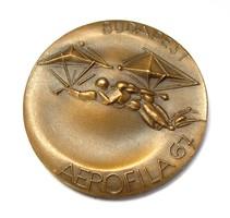 Aerofila 67,Nemzetközi légiposta bélyegkiállítás Budapest emlékérme.
