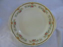 Antik, virágmintás porcelán süteményes tál  / 1735