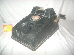 Régi telefon készülék kagyló nélkül - tekerős, kurblis - dekorációnak