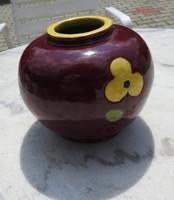 Antik mázas cserép WIEN - bécsi váza - WIEN kerámia váza