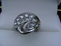 'Filléres' swarovski kristályos gyűrű 10