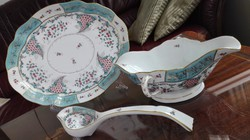 A porcelánok fejedelme, a Herendi Tupini Cornucopia / szószos-tál