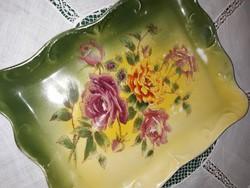 Porcelán kínáló tálca,alátét