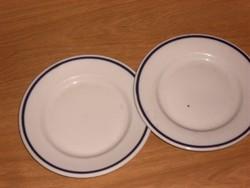 Csodás  zsolnay kék  süteményes tányér