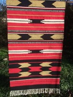 Új Gyulai-kilim gyapjú futó-szőnyeg-falvédő 75x210