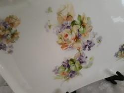 Limoges porcelán tálca-20x25 cm
