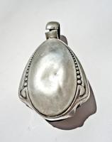 Antik ezüst baba csörgő