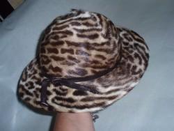Vintage szőrme kalap