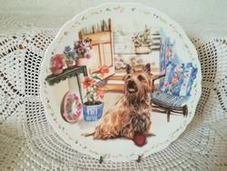 Royal Albert  (Mans best friend collection 3.) - Tányér