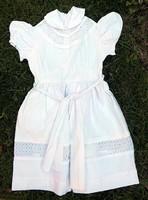 Régi 70 -es évek fehér ünneplő kislány ruha