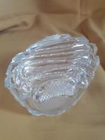 Dúsan csiszolt üveg bonbonier  / 1769