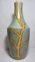 B. Várdeák Ildikó iparművész , jelzett  kerámia váza