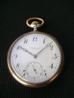 Szép 800-as arany lünetás, ezüst,Gyönyörű Zsebóra hattyú  nyakas szabájzoval