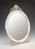 Ezüst századfordulós asztali tükör