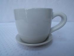 Kerámia -  kaspó csészealj rögzített 15 x 10 cm - hibátlan