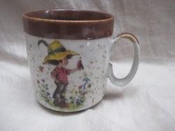Kislány-kisfiú bögre - pohár
