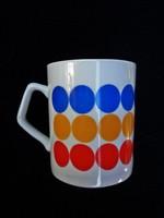 Zsolnay ritka pöttyös csésze