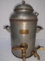 KÁVÉFŐZŐ RITKASÁG ANTIK SZÁLLODAI 5 liter! 1800-as évek vége,OSZTRÁK  TÖKÉLETES ÁLLAPOT!