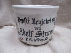 1906-os Nagy régi bögre-pohár.