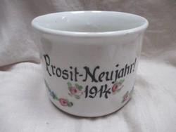 1914-es Nagy régi bögre-pohár.