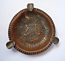 Mexikói régi érmés hamutartó