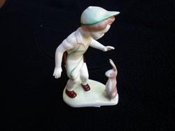 Aquincumi kisfiú nyuszival