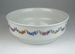 0S089 Régi magasfalú Zsolnay porcelán tál