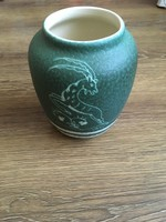 Jelzett Gmundner kerámia váza
