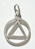 Mágikus szimbólum, ezüst medál