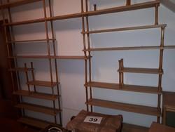 Könyvespolc fal, polcrendszer
