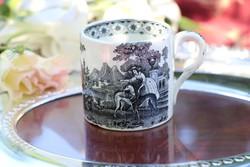 Jelenetes csésze