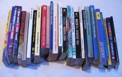 Sci-fi, fantasy könyvcsomag: 27 darab 100 Ft/db áron egyben eladó