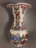 Csenki ( Czvalinga ) István HMV kerámia hatalmas impozáns váza - jelzett
