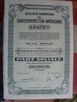 Dél-Amerika- Ets Sud Américain Graty 1944
