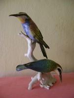Hatalmasnak mondható ENS porcelán madár pár