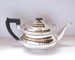 W & C. Sissons angol ezüst teáskanna 1903.