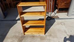Eladó egy fiókos fenyő polc , komód Bútor szép, újszerű állapotú,erős és stabil. Teljesen fából van: