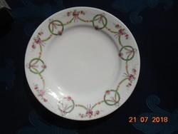 Birodalmi girlandos szecessziós,dombormintás tányér-18 cm