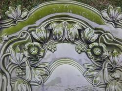 Gyönyörű antik SZECESSZIÓS MEISSENI porcelán cserépkályha 230 cm magas
